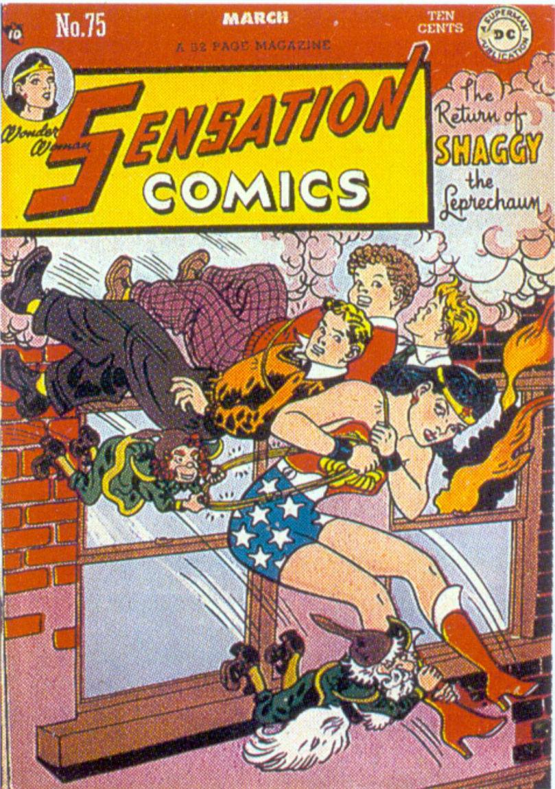 Read online Sensation (Mystery) Comics comic -  Issue #75 - 1