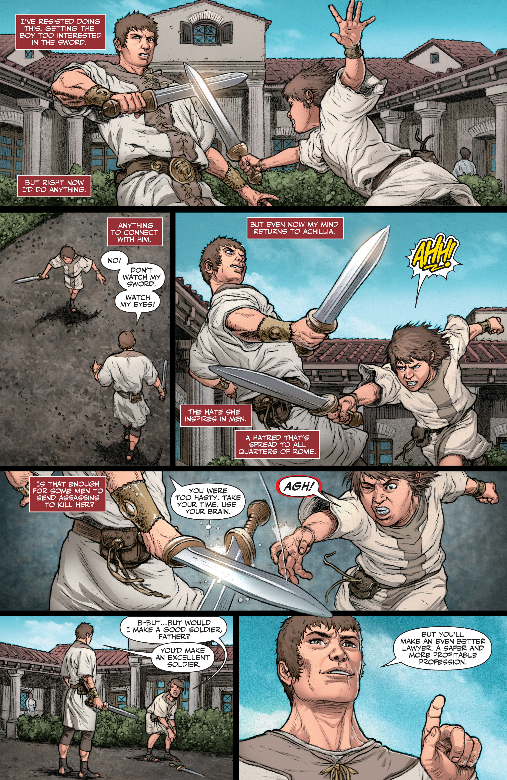 Read online Britannia: We Who Are About To Die comic -  Issue #2 - 14