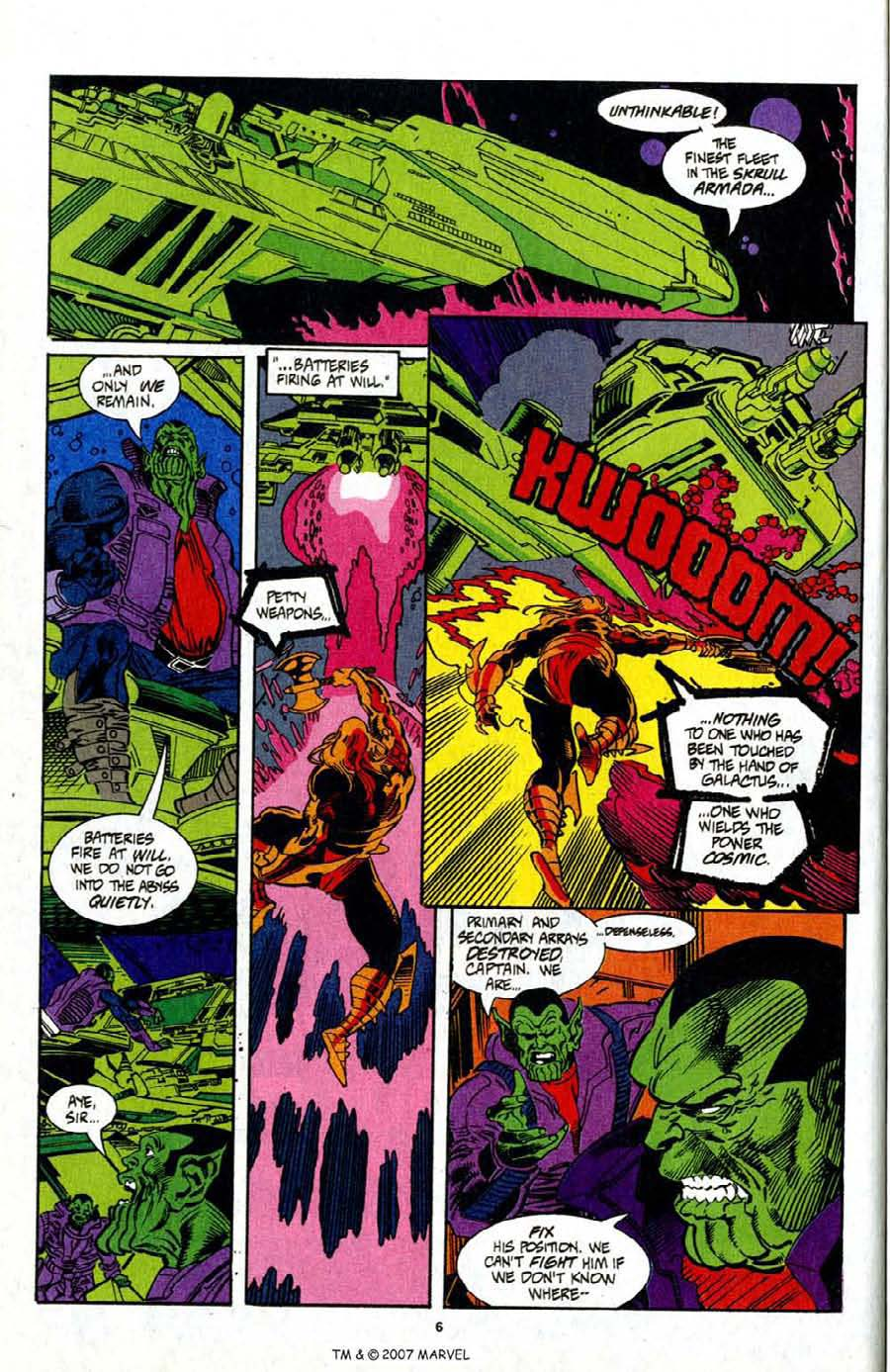 Read online Silver Surfer (1987) comic -  Issue # _Annual 7 - 8