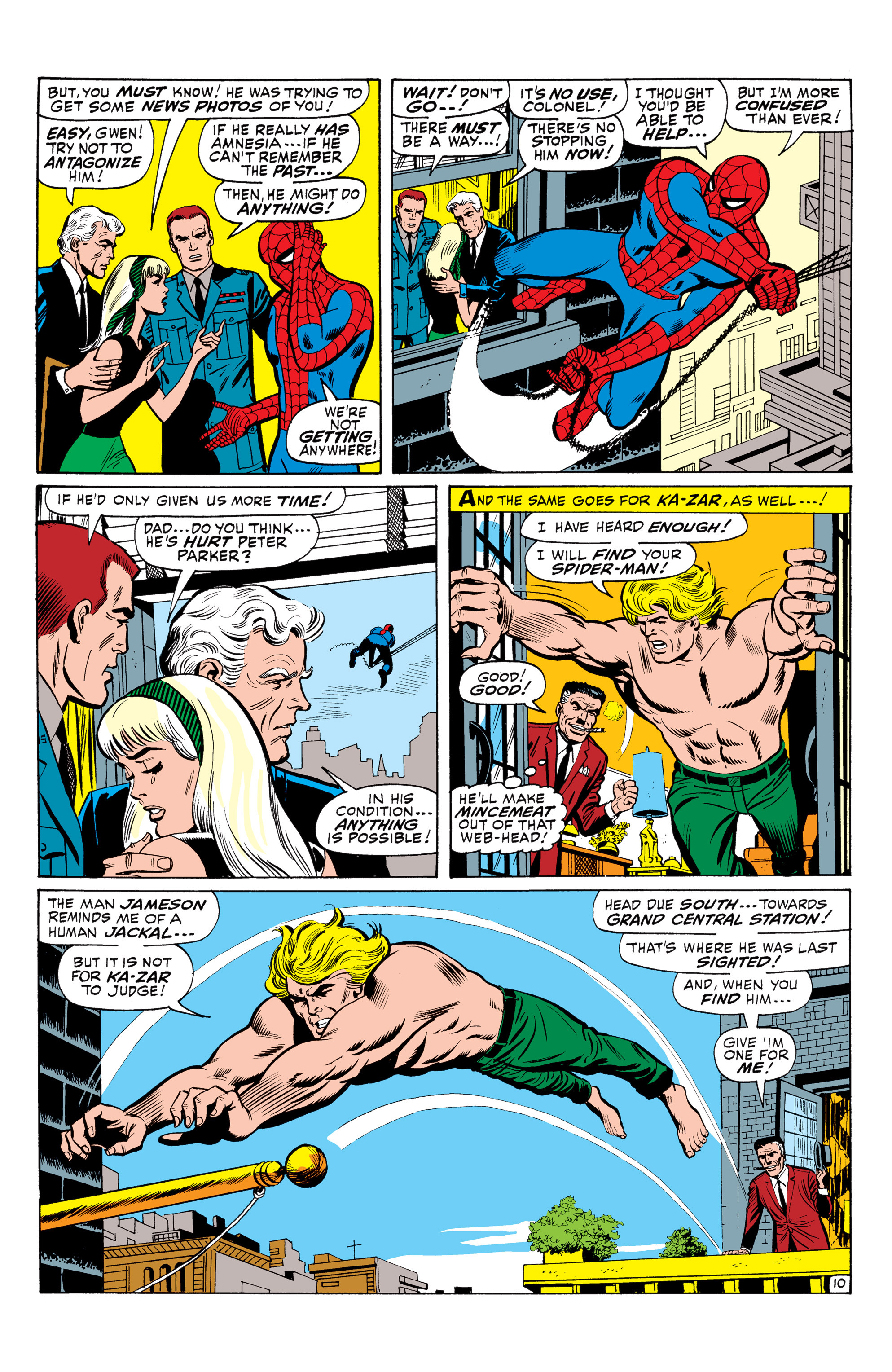 The Amazing Spider-Man (1963) 57 Page 10