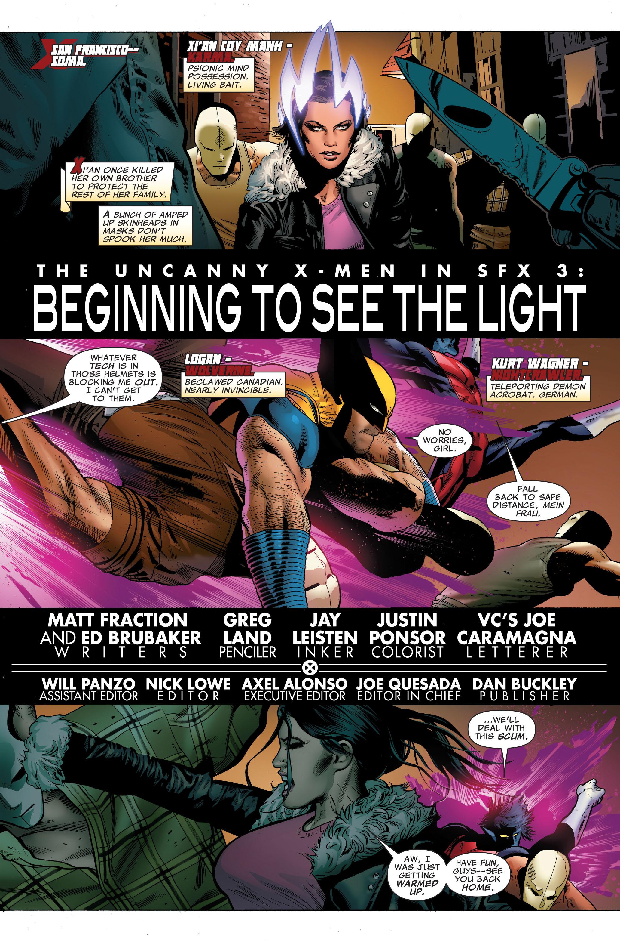 Read online Uncanny X-Men (1963) comic -  Issue #502 - 3