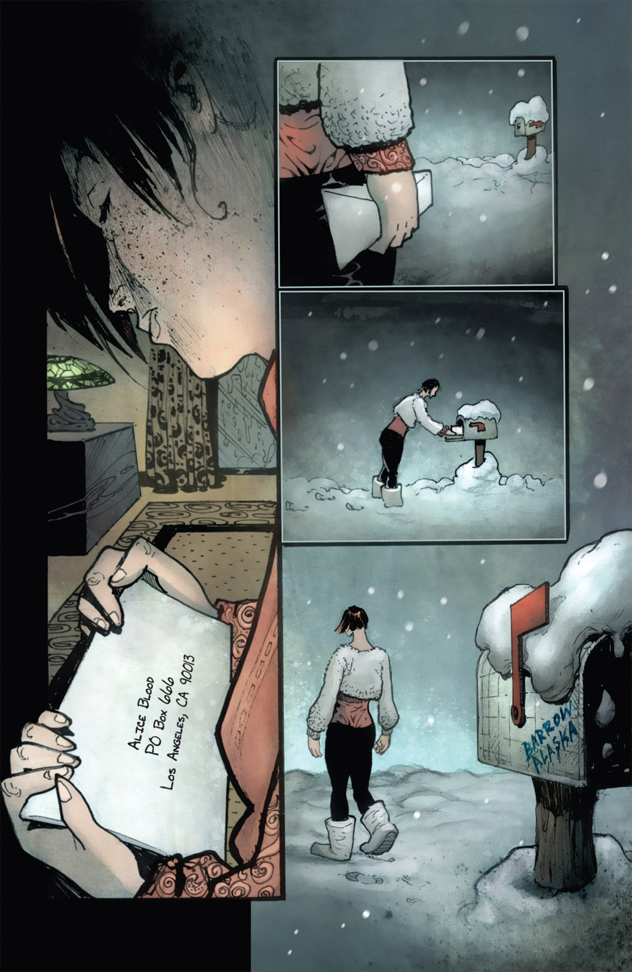 Read online 30 Days of Night (2011) comic -  Issue #1 - 6