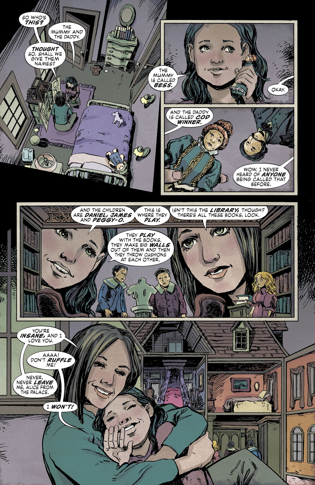 Read online The Dollhouse Family comic -  Issue #1 - 6
