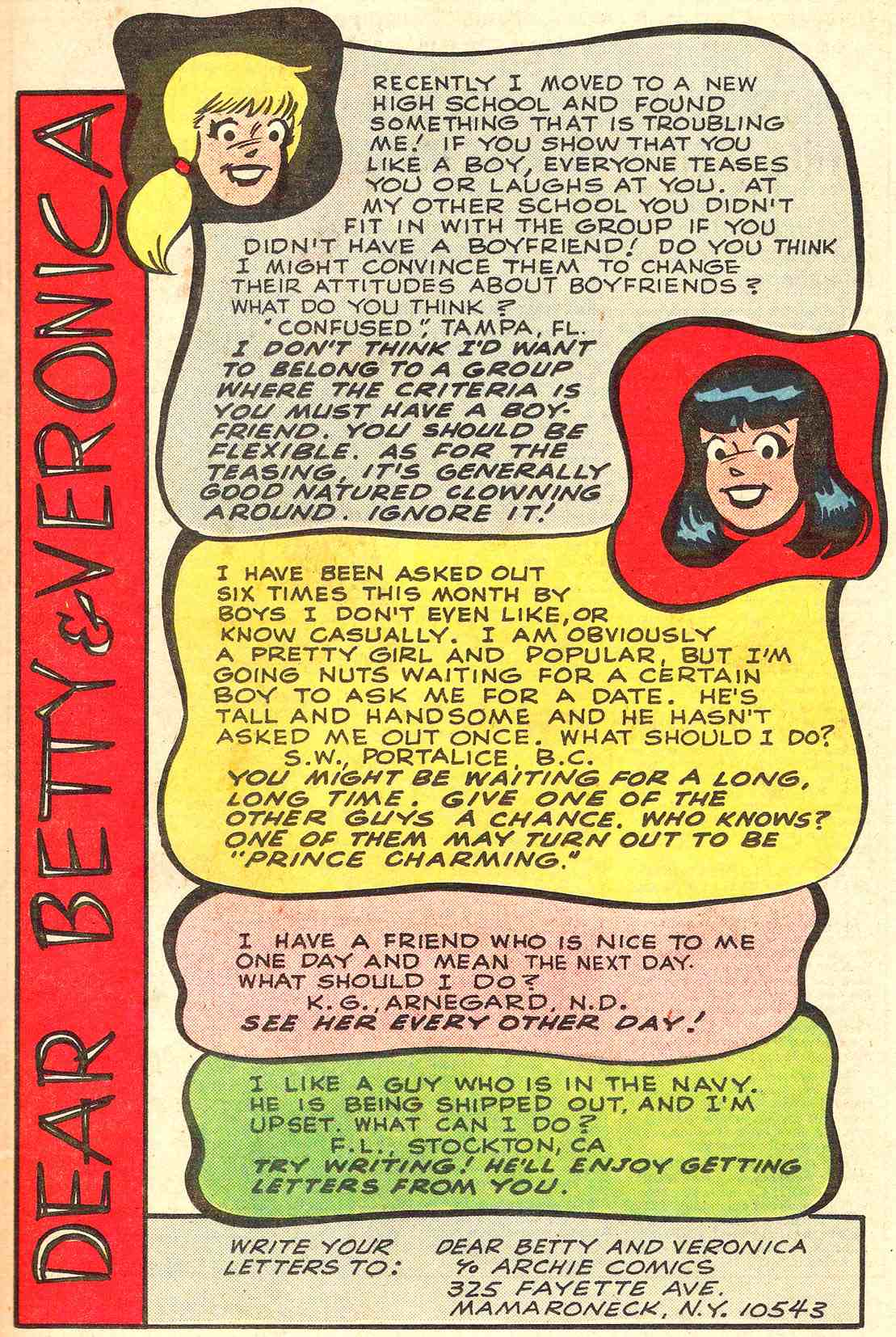 Read online Archie's Girls Betty and Veronica comic -  Issue #331 - 11