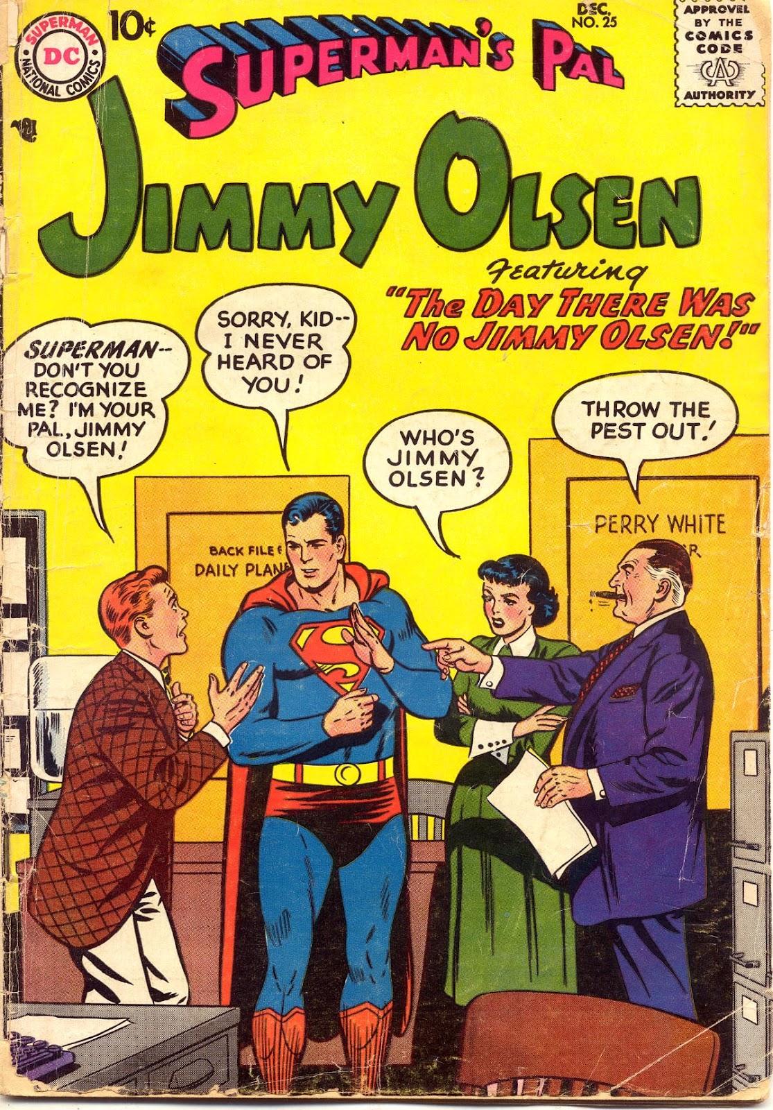 Supermans Pal Jimmy Olsen (1954) 25 Page 1