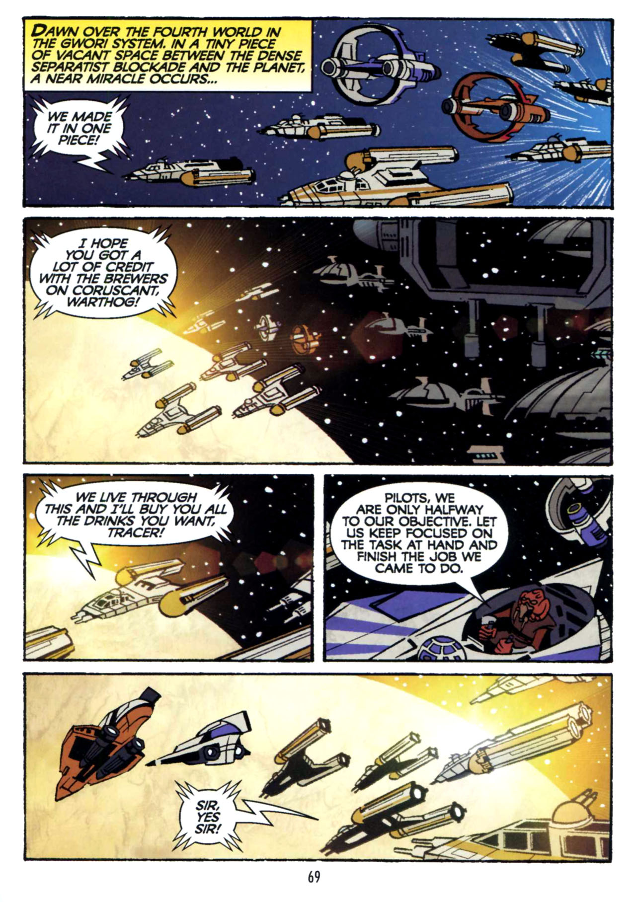 Read online Star Wars: The Clone Wars - Shipyards of Doom comic -  Issue # Full - 67