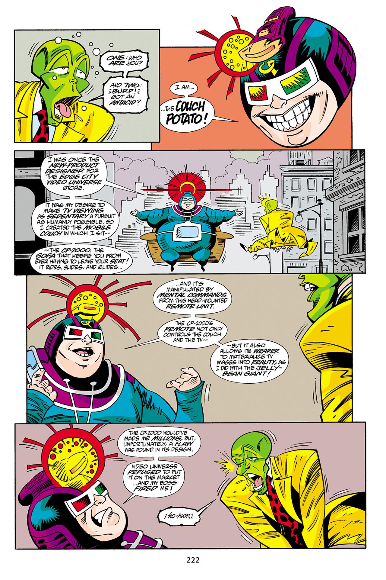 Read online Adventures Of The Mask Omnibus comic -  Issue #Adventures Of The Mask Omnibus Full - 221