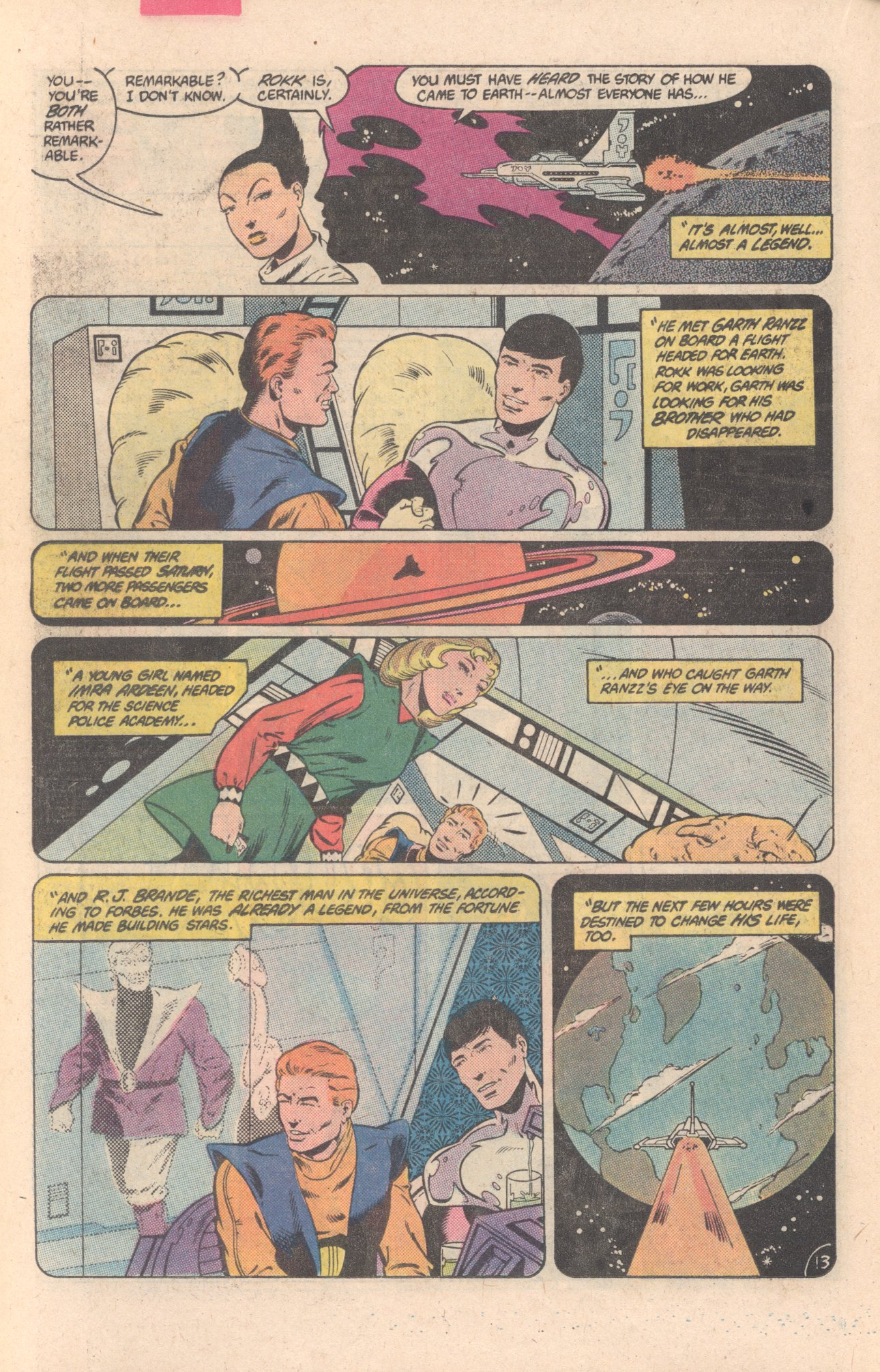 Legion of Super-Heroes (1980) 297 Page 13