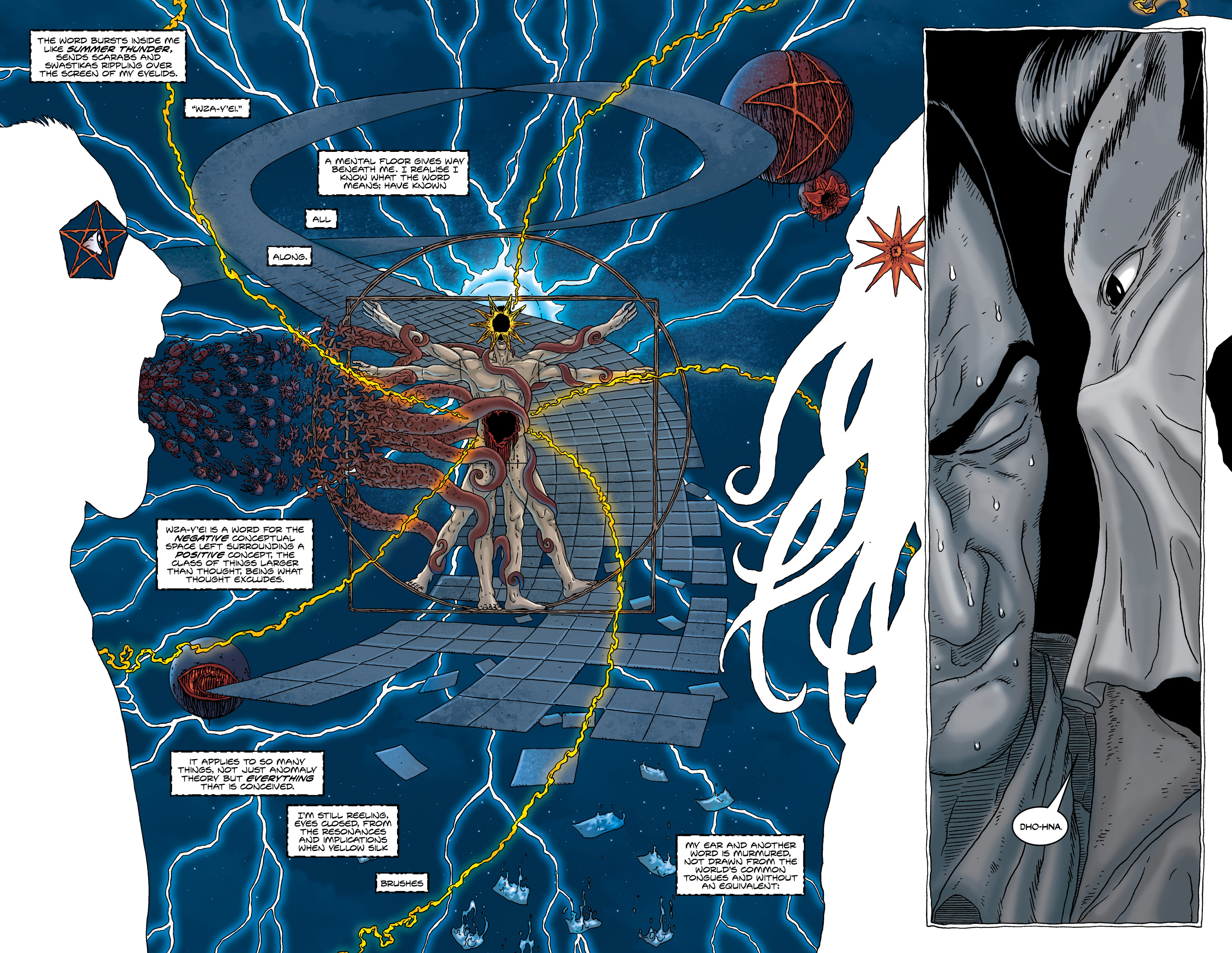 Read online Alan Moore's The Courtyard comic -  Issue # TPB - 44