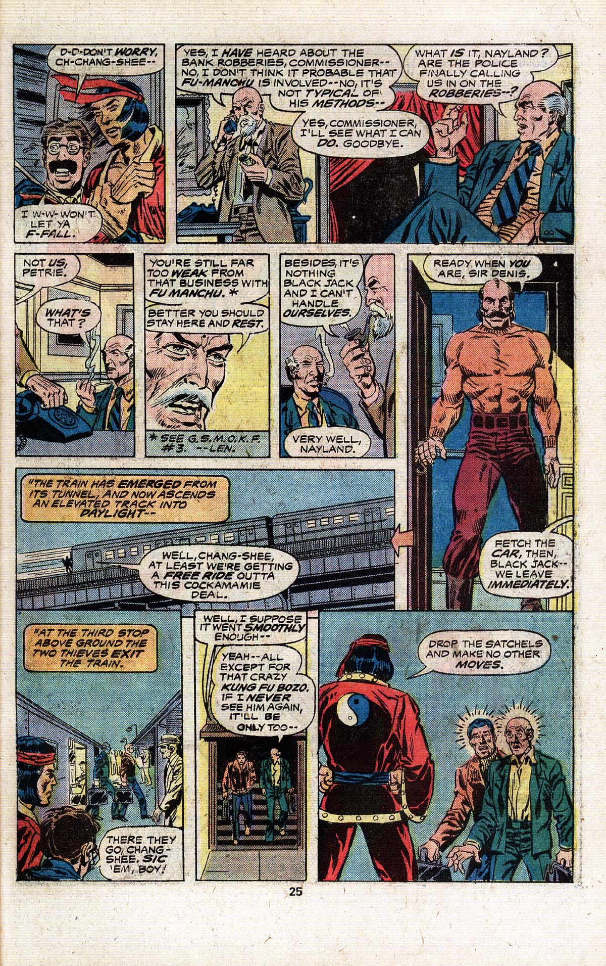 Read online Giant-Size Master of Kung Fu comic -  Issue #4 - 22