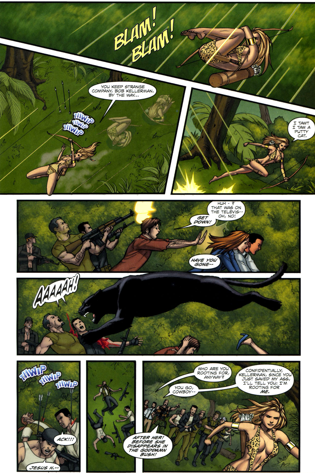 Read online Sheena, Queen of the Jungle comic -  Issue #4 - 19