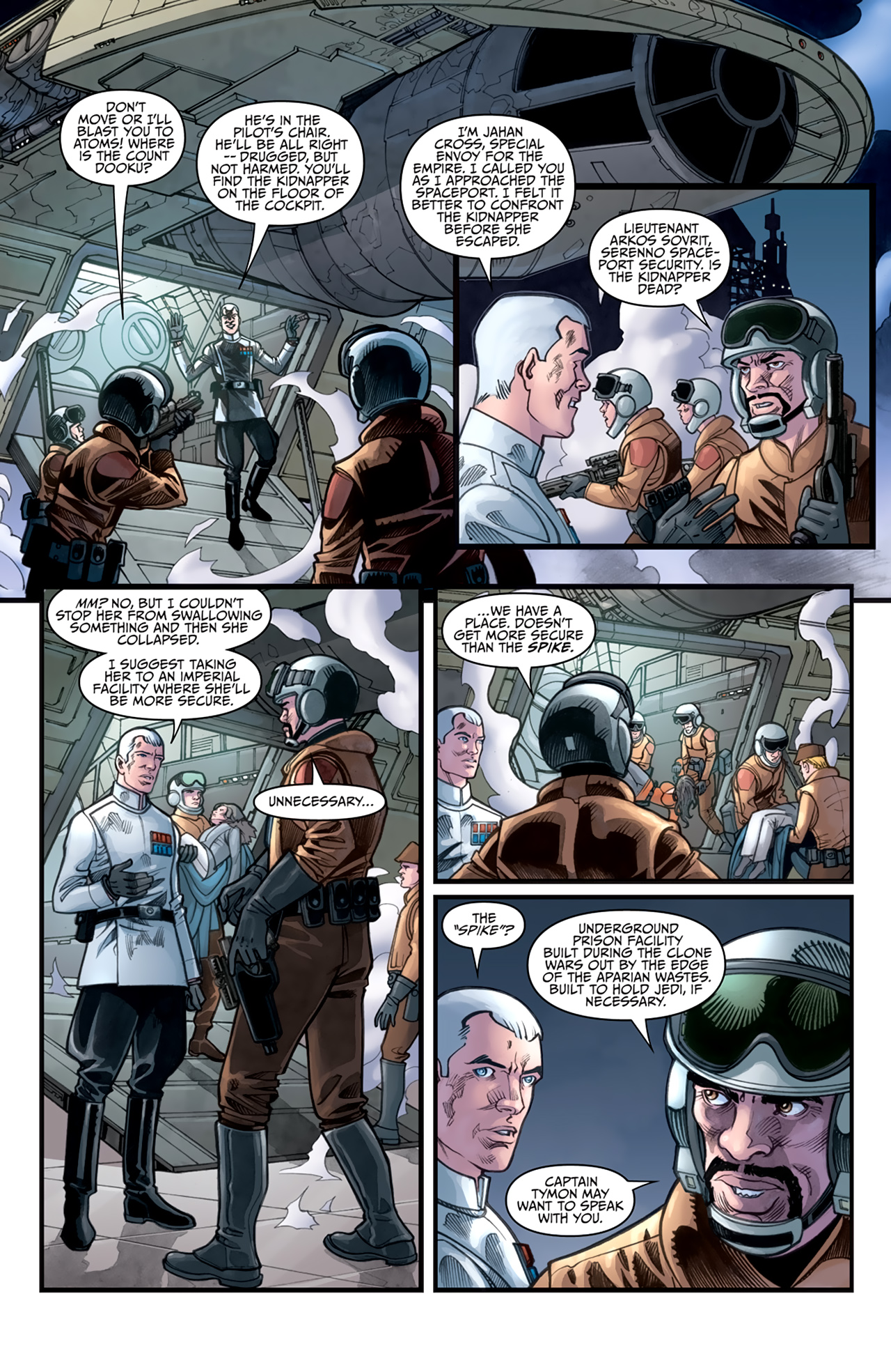 Read online Star Wars: Agent Of The Empire - Hard Targets comic -  Issue #3 - 10