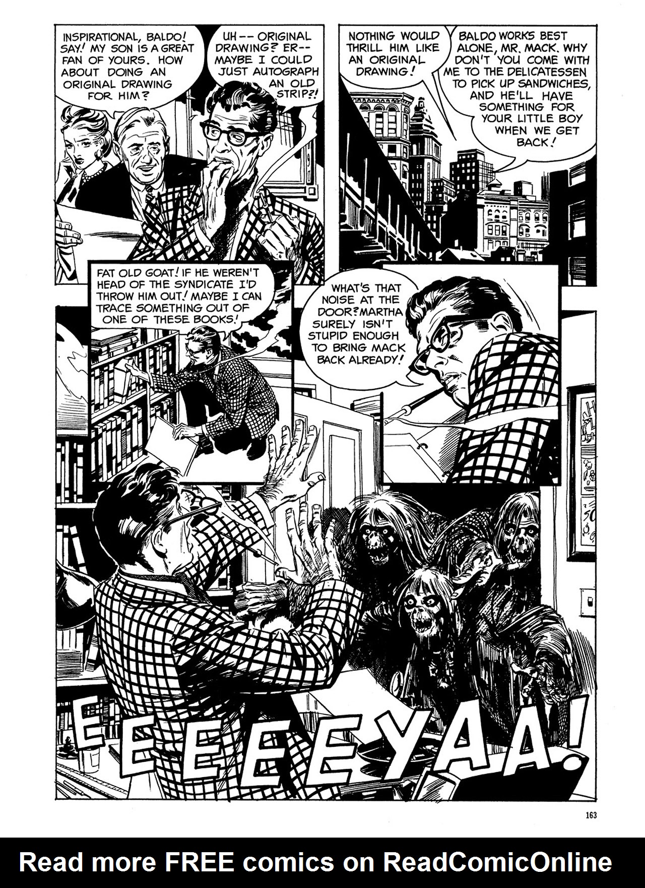 Read online Eerie Archives comic -  Issue # TPB 3 - 164