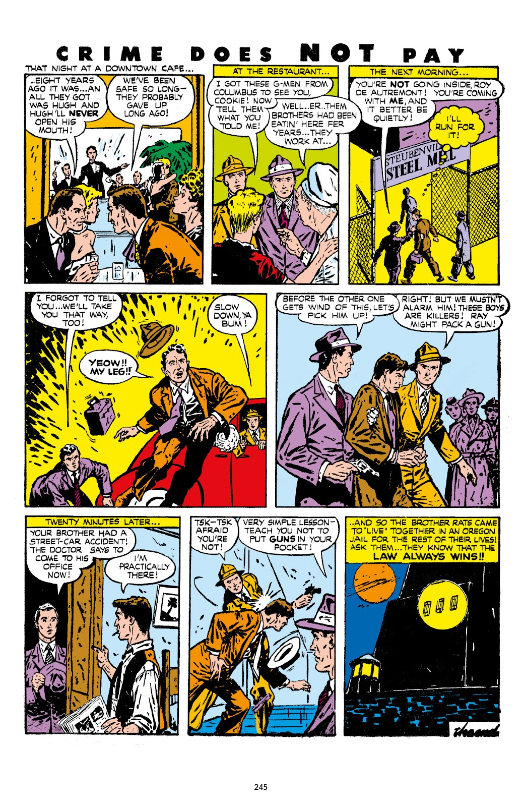 Read online Crime Does Not Pay Archives comic -  Issue # TPB 7 (Part 3) - 46