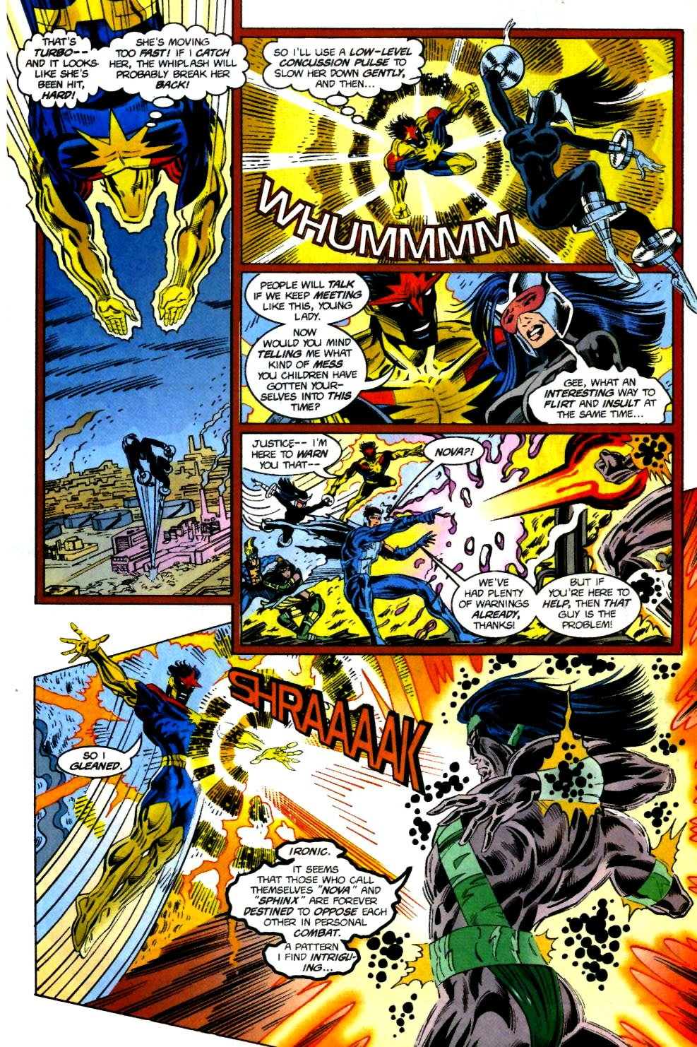The New Warriors Issue #69 #73 - English 13