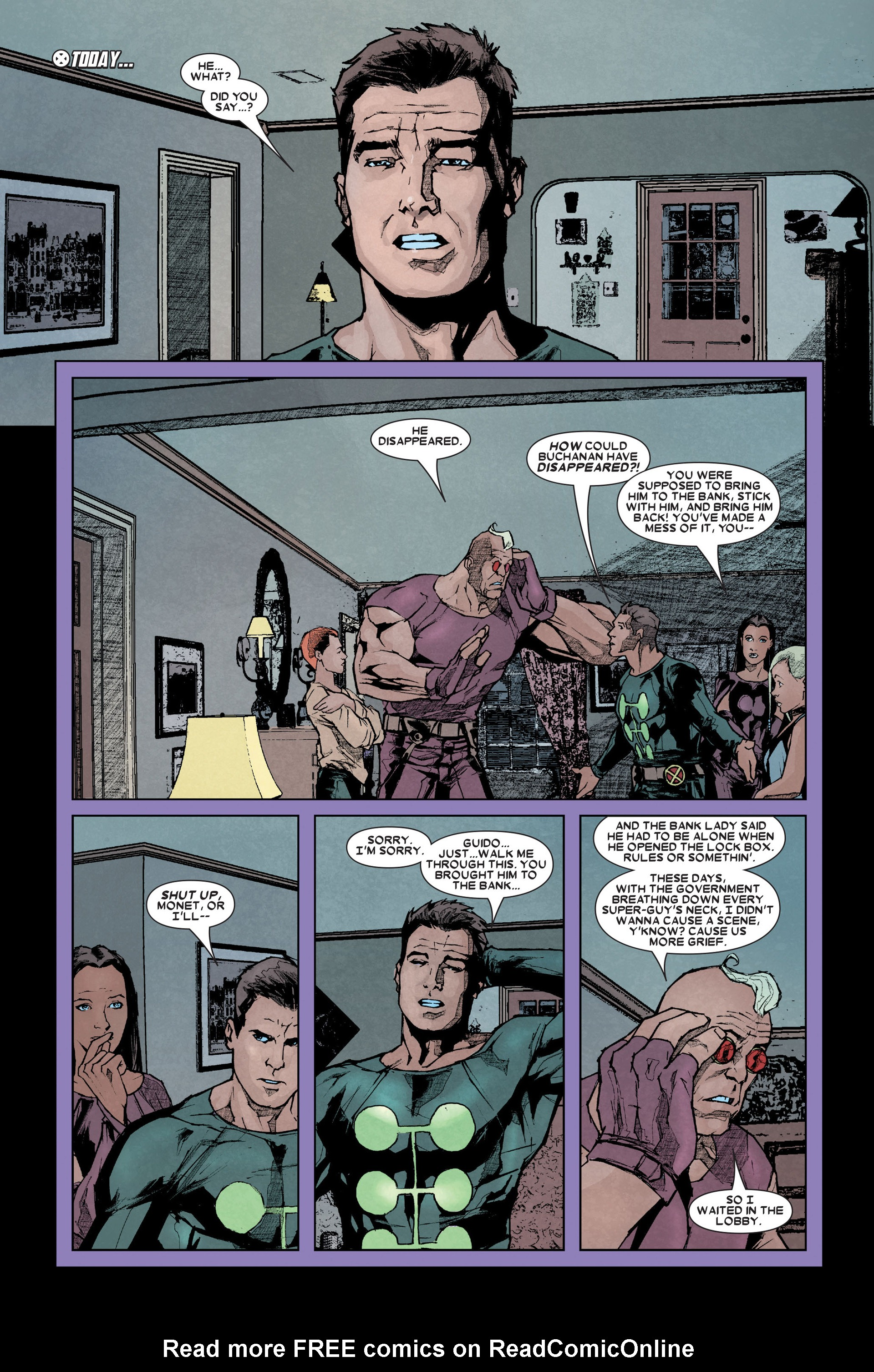 Read online X-Factor (2006) comic -  Issue #11 - 7