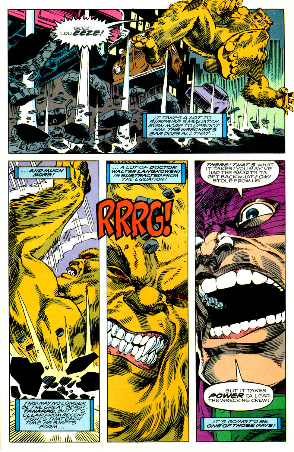 Read online Alpha Flight (1983) comic -  Issue #119 - 5