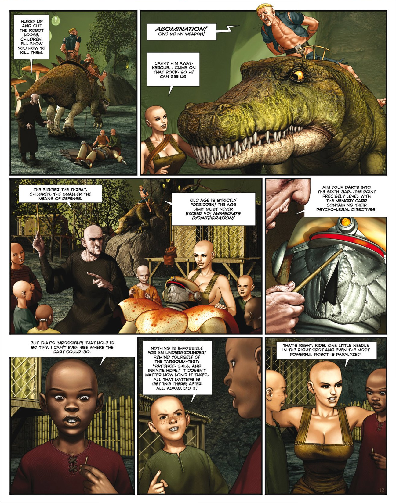Read online Megalex (2014) comic -  Issue #2 - 14
