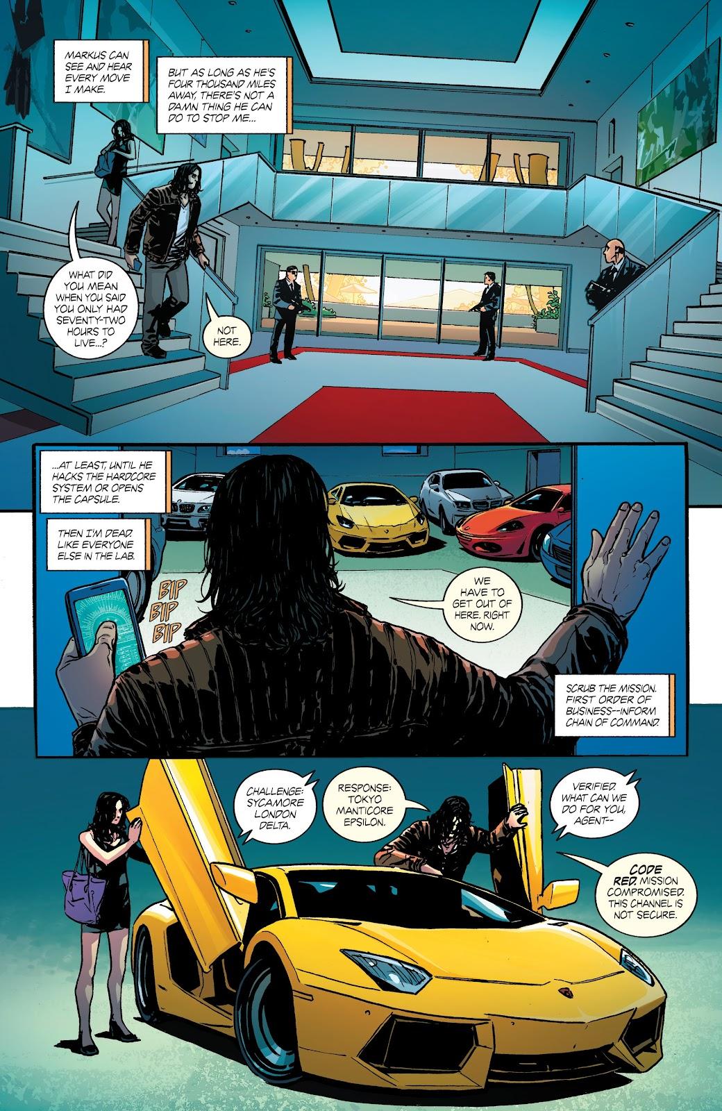 Read online Hardcore comic -  Issue #2 - 7