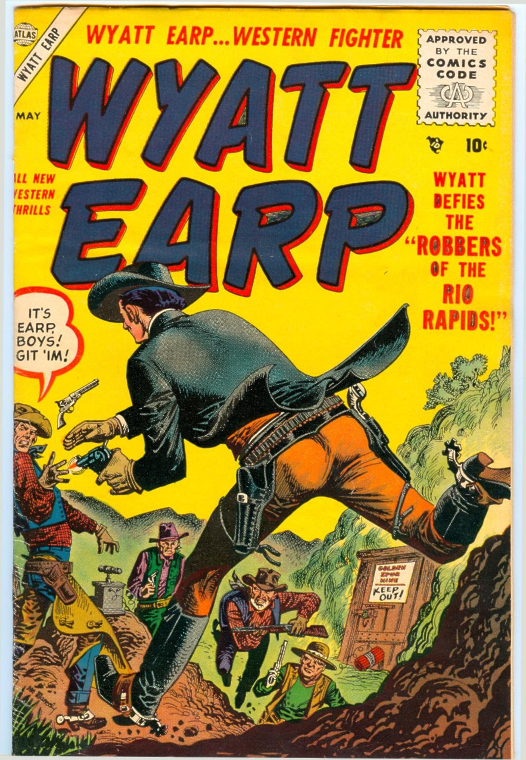 Wyatt Earp 4 Page 1
