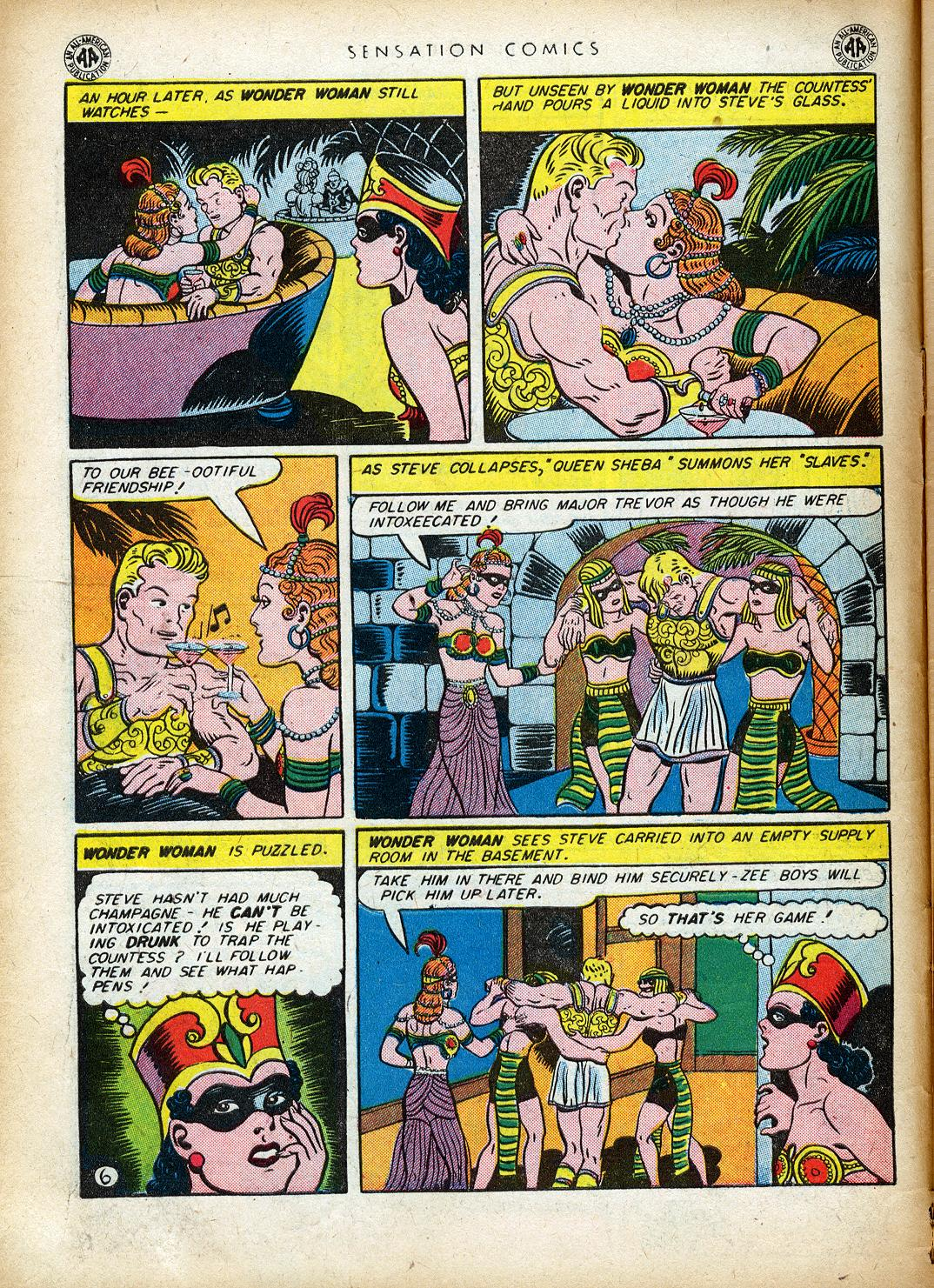 Read online Sensation (Mystery) Comics comic -  Issue #40 - 8