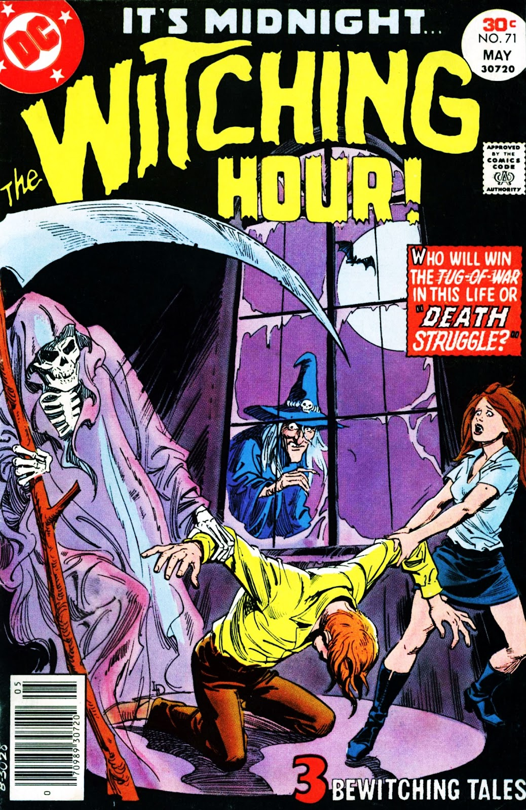 The Witching Hour (1969) issue 71 - Page 1