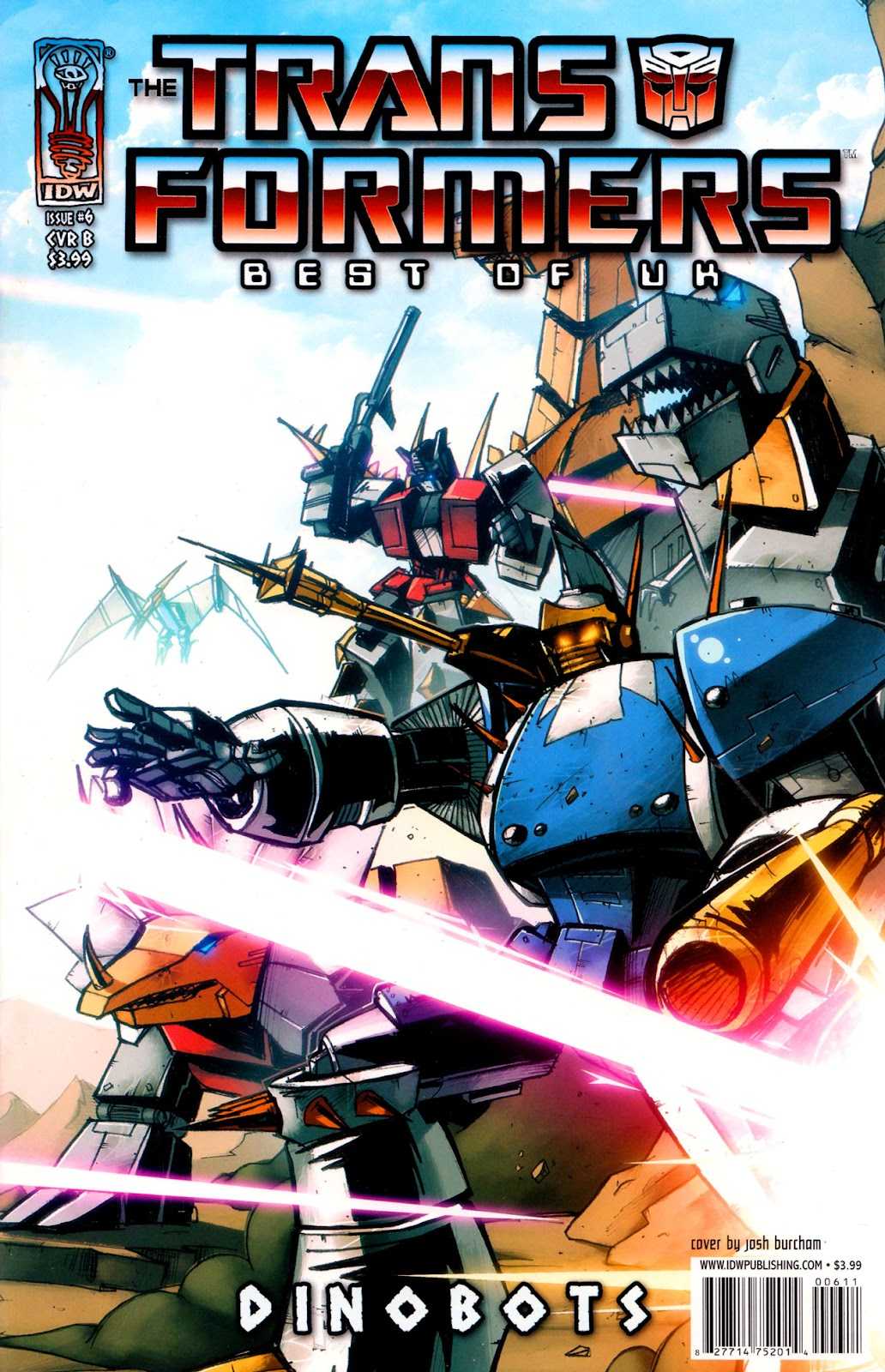 Read online The Transformers: Best of UK: Dinobots comic -  Issue #6 - 2