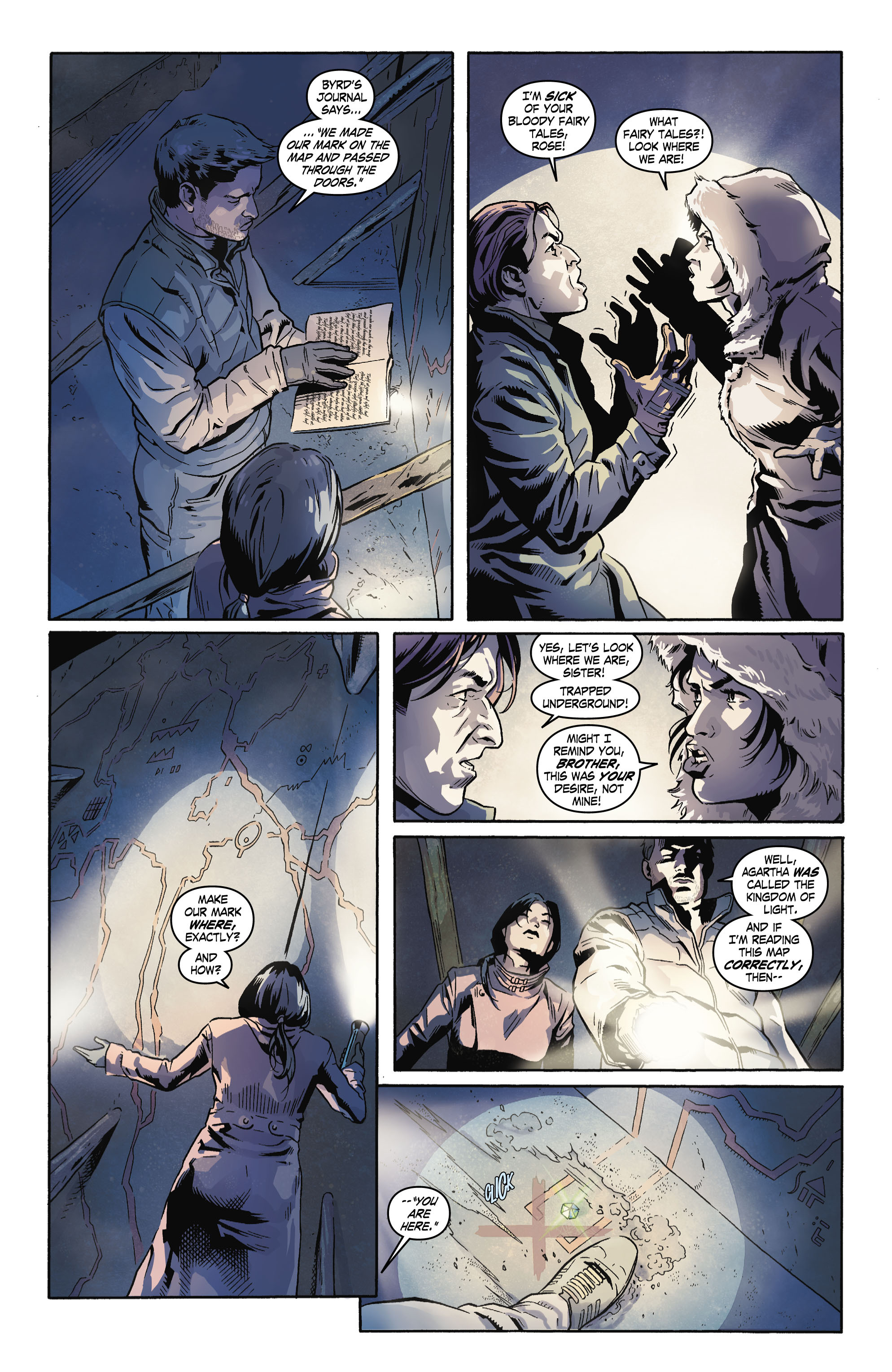 Read online Uncharted comic -  Issue #4 - 8