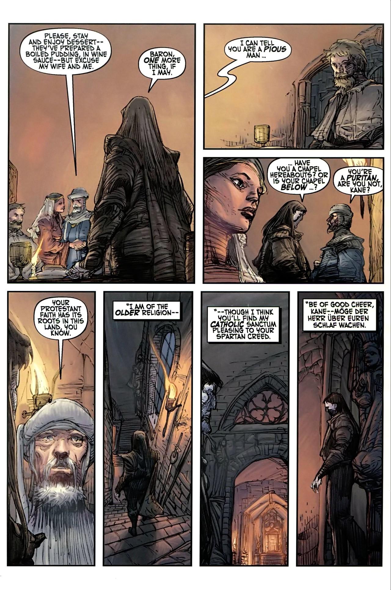 Read online Solomon Kane comic -  Issue #1 - 24