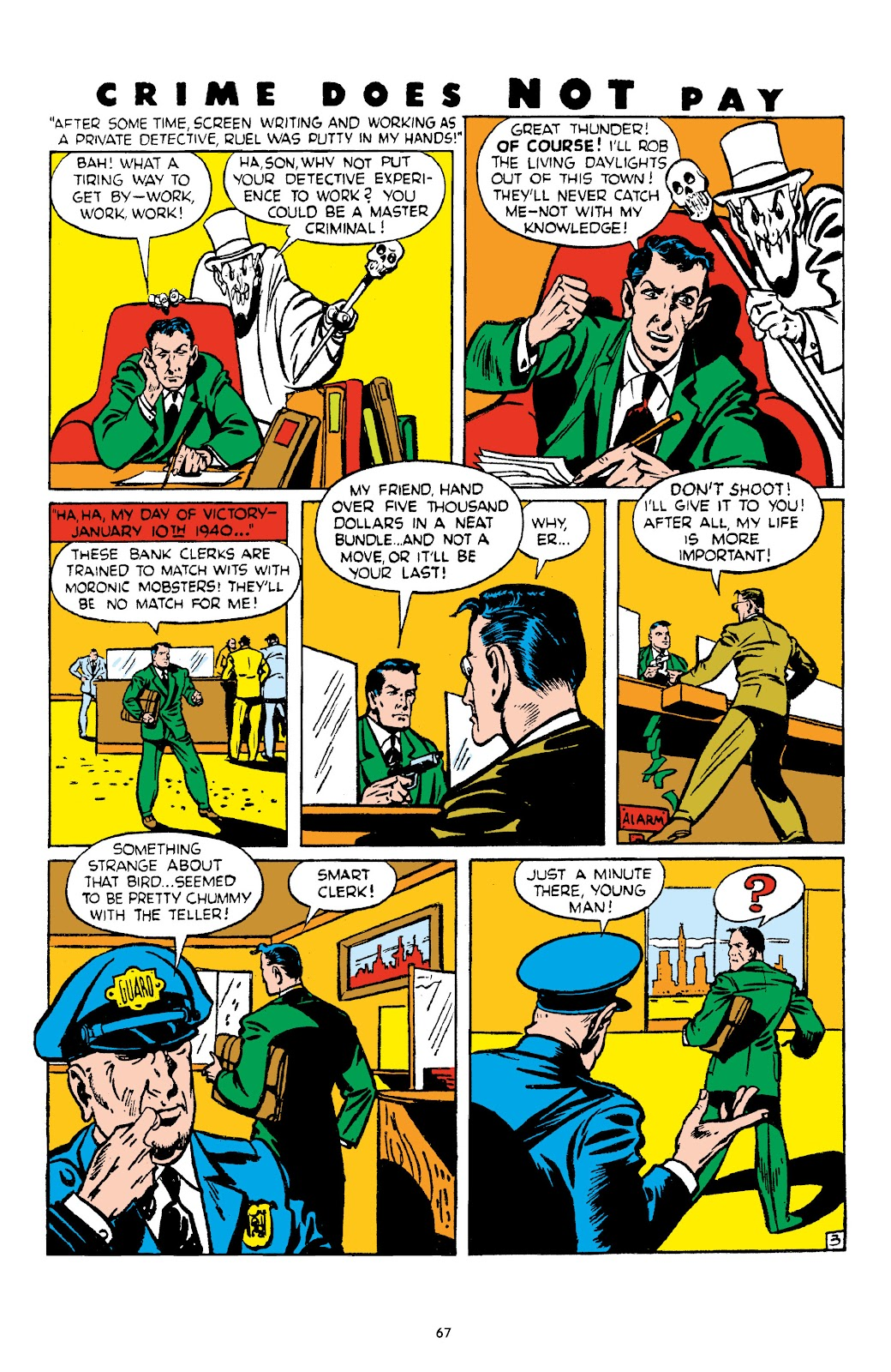 Read online Crime Does Not Pay Archives comic -  Issue # TPB 4 (Part 1) - 67