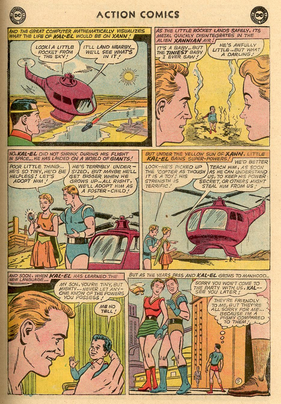 Read online Action Comics (1938) comic -  Issue #314 - 6