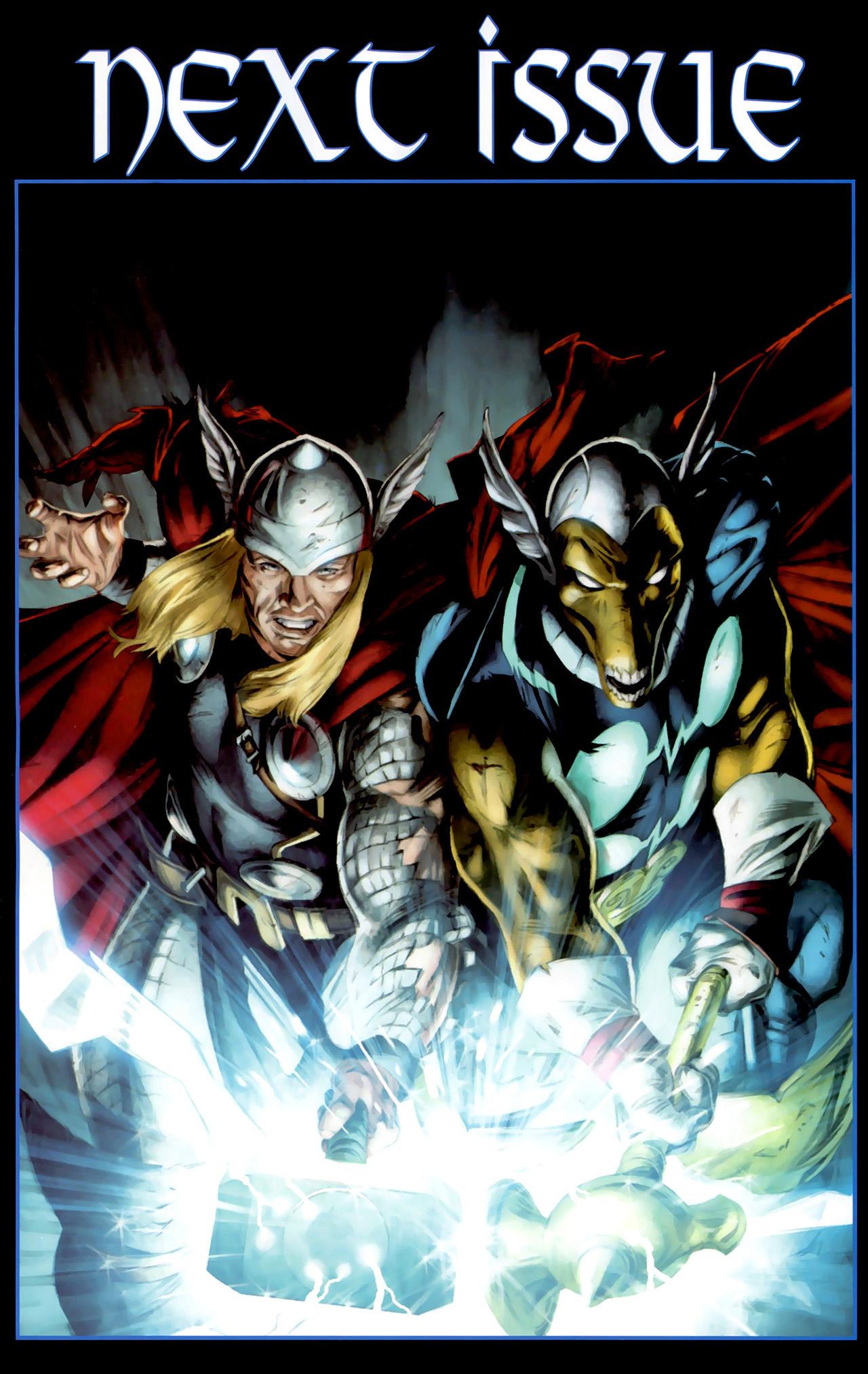 Read online Secret Invasion: Thor comic -  Issue #2 - 24