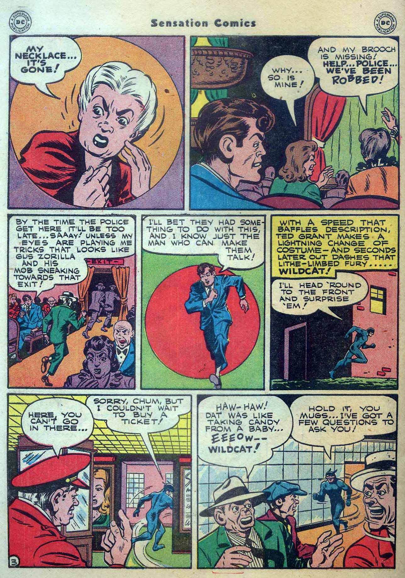 Read online Sensation (Mystery) Comics comic -  Issue #56 - 44