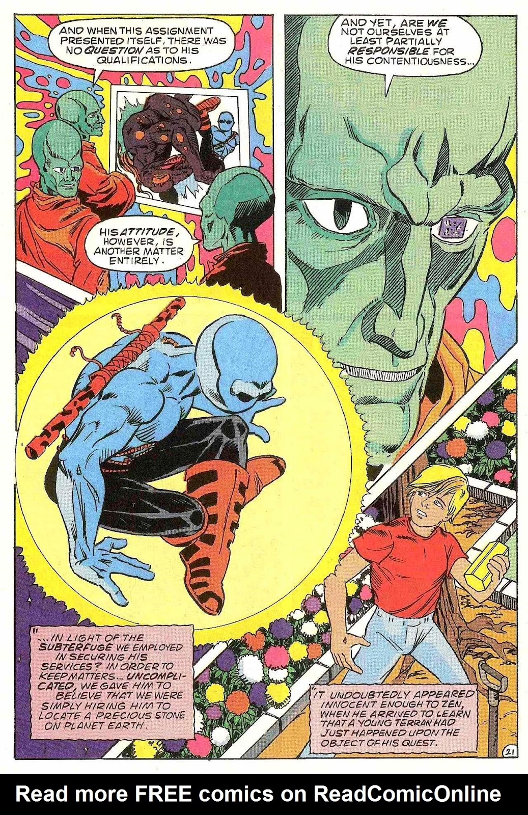 Read online Zen Intergalactic Ninja (1992) comic -  Issue #1 - 22