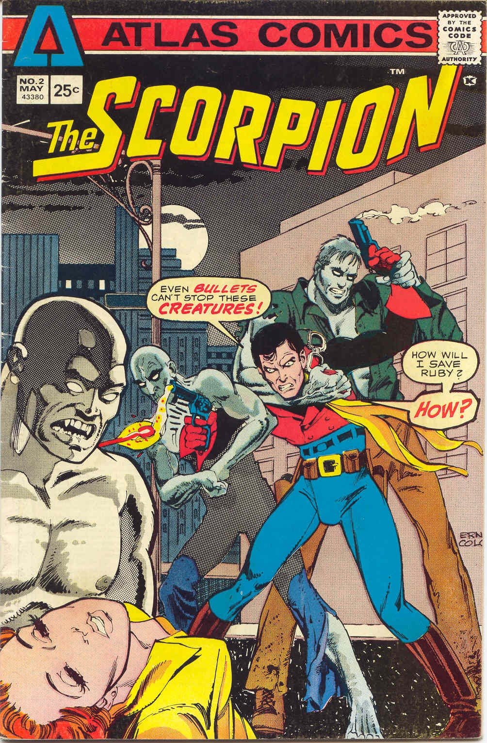The Scorpion (1975) issue 2 - Page 1