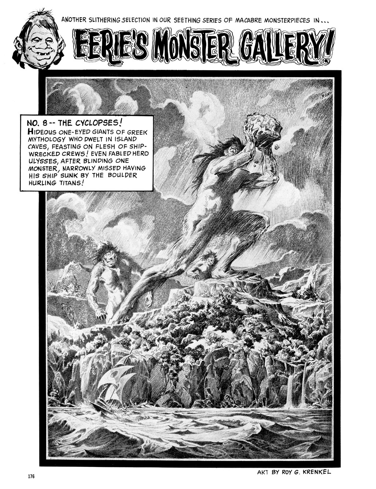 Read online Eerie Archives comic -  Issue # TPB 2 - 177