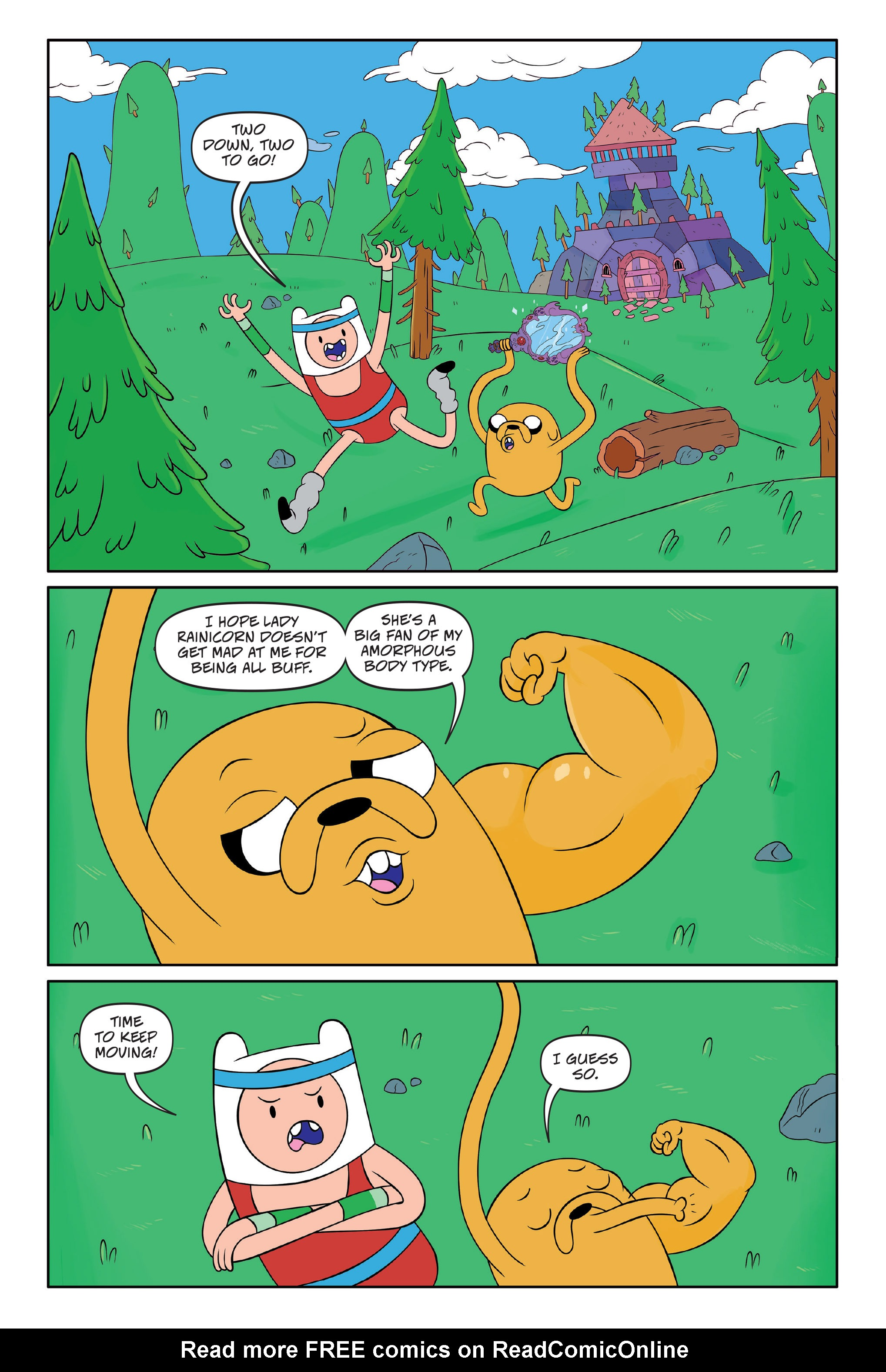 Read online Adventure Time comic -  Issue #Adventure Time _TPB 7 - 51