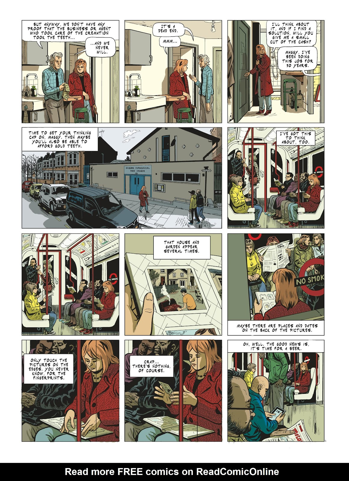 Read online Maggy Garrisson comic -  Issue #3 - 8
