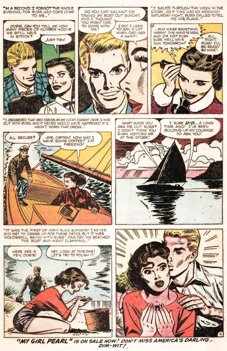 Love Romances (1949) issue 51 - Page 14