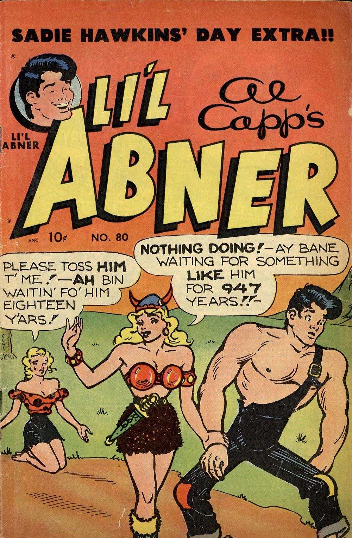Lil Abner Comics 80 Page 1