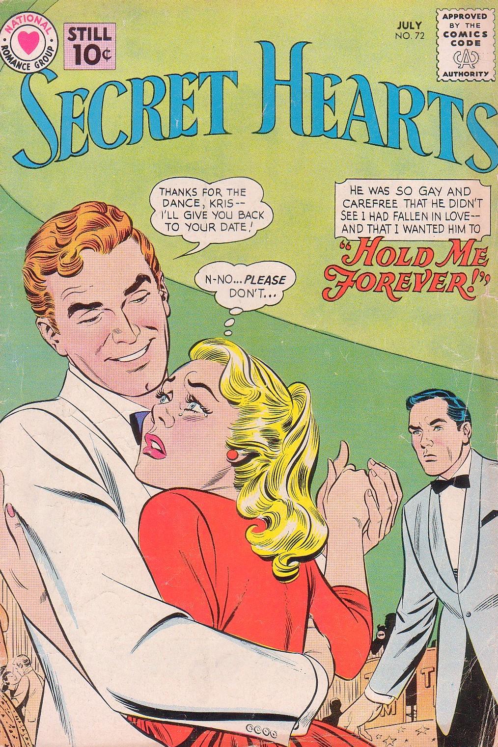 Read online Secret Hearts comic -  Issue #72 - 1