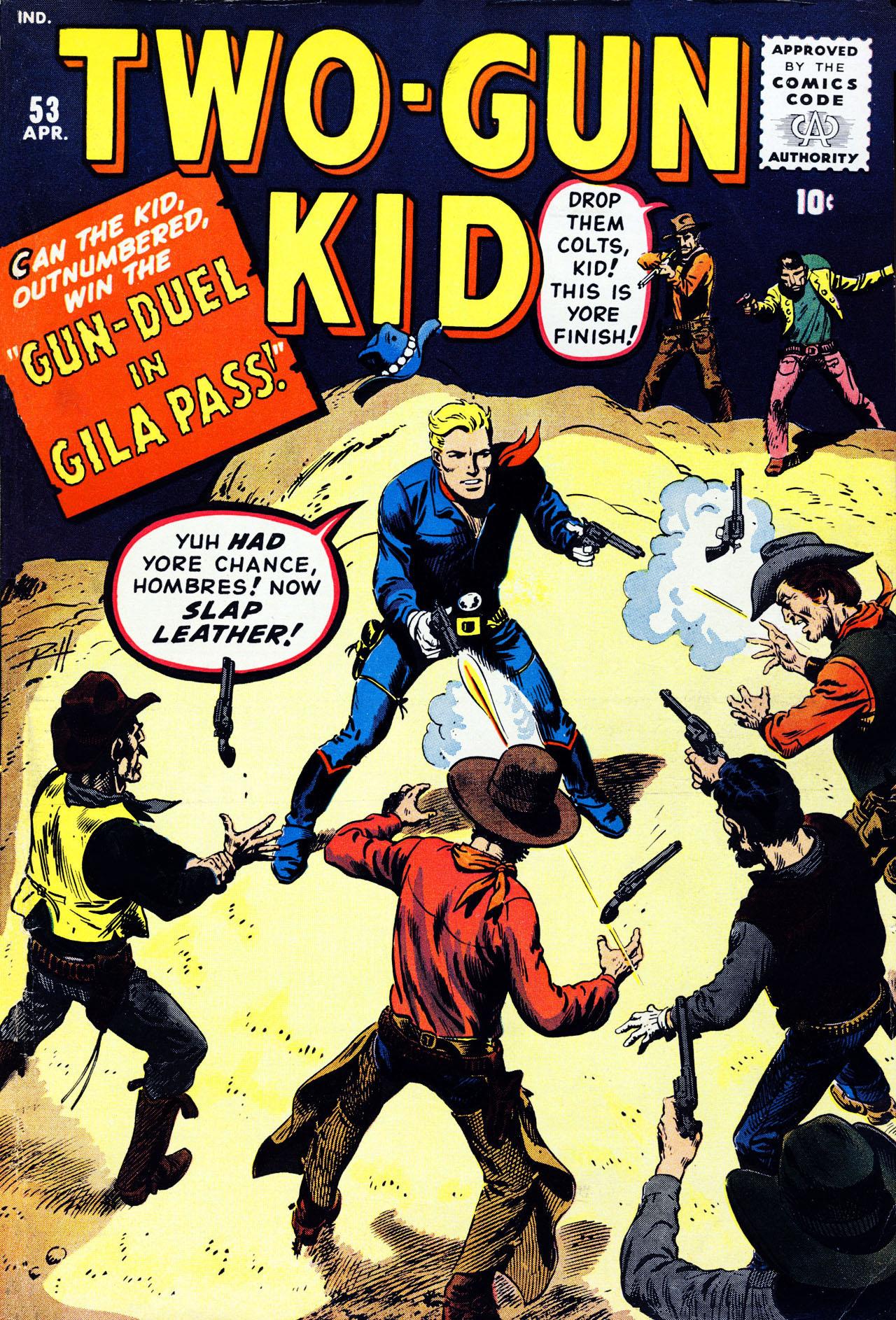 Read online Two-Gun Kid comic -  Issue #53 - 1