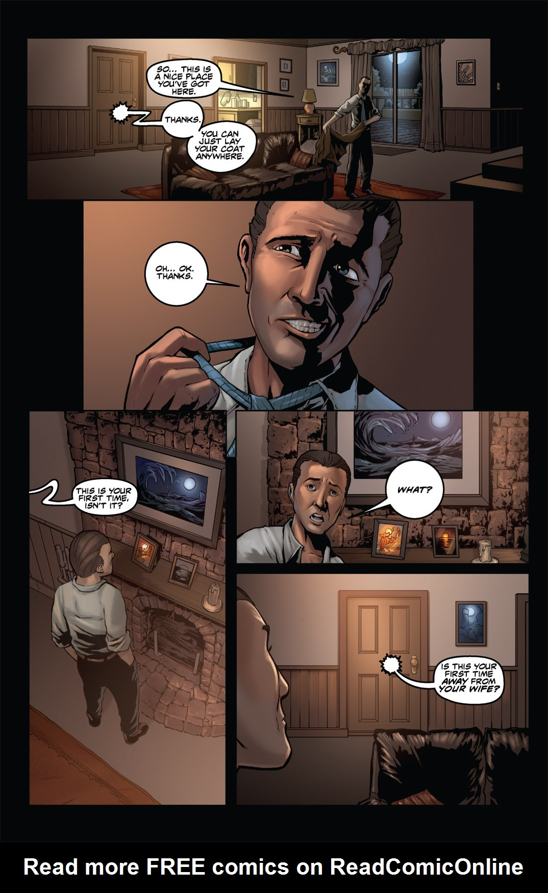 Read online Nightmare World comic -  Issue # Vol. 1 Thirteen Tales of Terror - 36