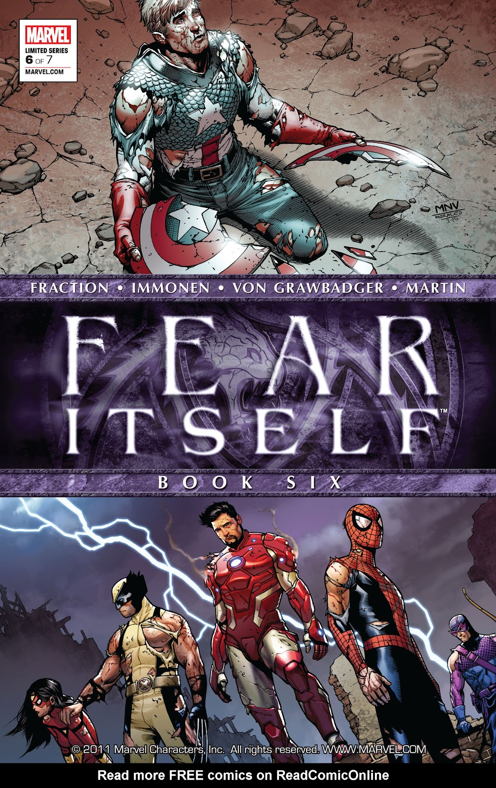 Fear Itself 6 Page 1