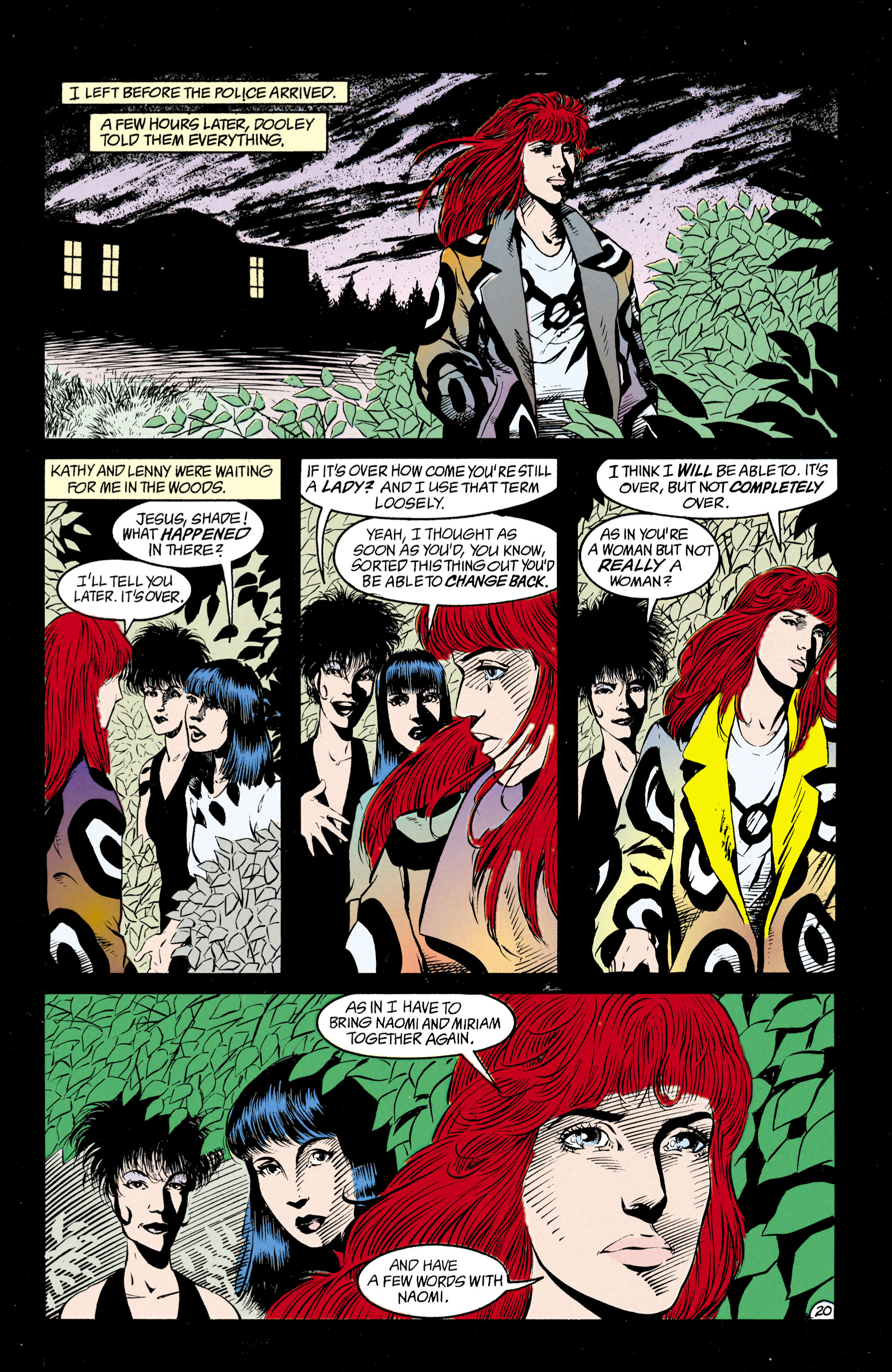 Read online Shade, the Changing Man comic -  Issue #29 - 21