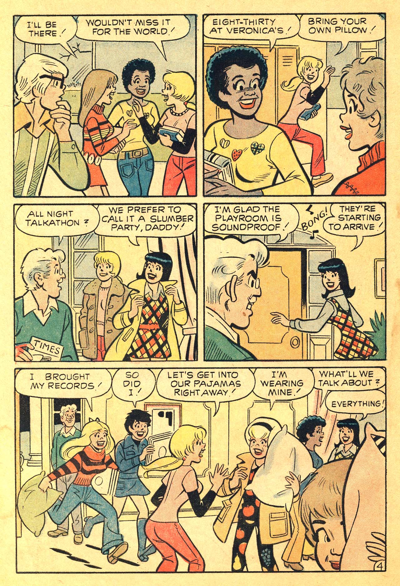 Read online Archie's Girls Betty and Veronica comic -  Issue #210 - 6