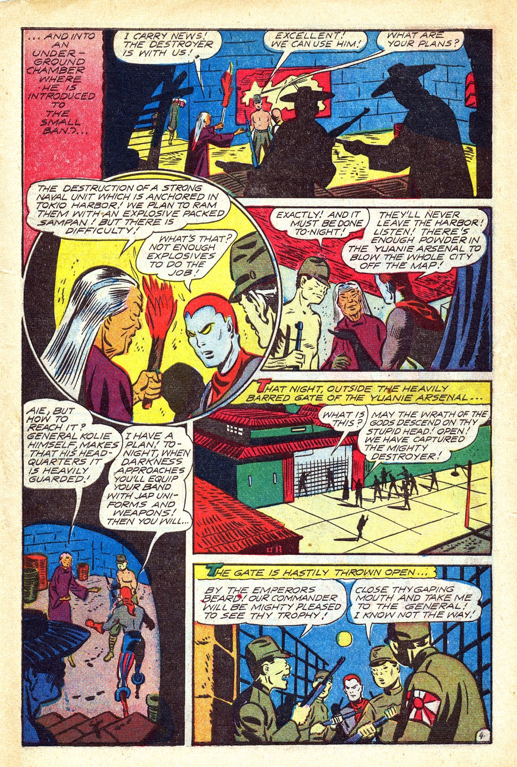 Read online Mystic Comics (1944) comic -  Issue #3 - 30