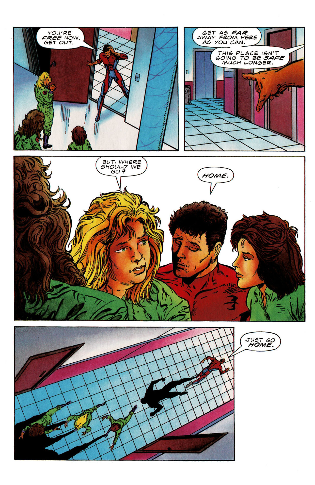 Read online Harbinger (1992) comic -  Issue #25 - 14