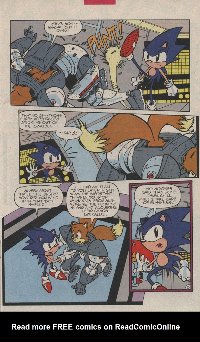 Read online Sonic Quest - The Death Egg Saga comic -  Issue #3 - 7
