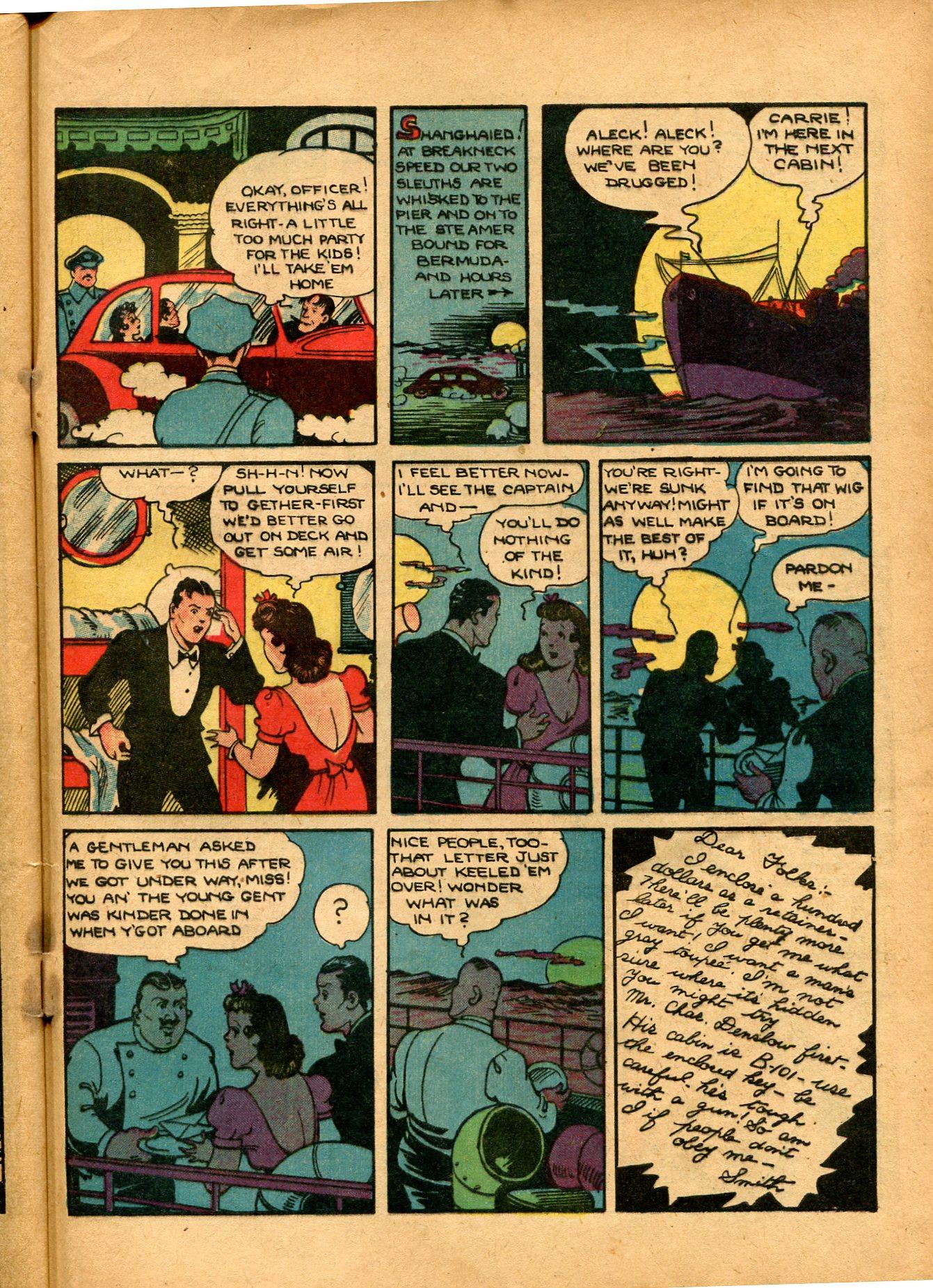 Read online Shadow Comics comic -  Issue #8 - 57